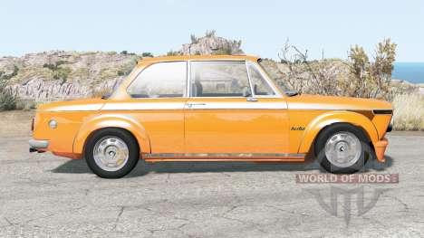 BMW 2002 Turbo (E20) 1974 pour BeamNG Drive