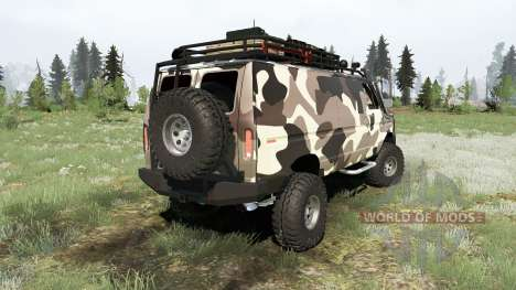 Ford E-350 Econoline Cargo Van 1990 pour Spintires MudRunner