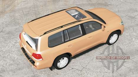 Toyota Land Cruiser 200 V8 (UZJ200) 2008 pour BeamNG Drive