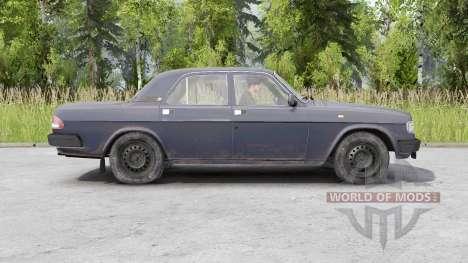Gaz 3110 Volga 1997 pour Spin Tires