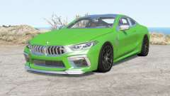 BMW M8 Competition coupe (F92) 2019 pour BeamNG Drive