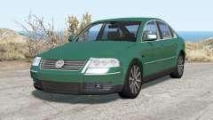 Volkswagen Passat sedan (B5.5) 2001 pour BeamNG Drive
