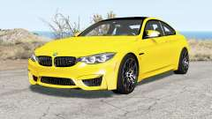 BMW M4 coupe (F82) 2017 pour BeamNG Drive