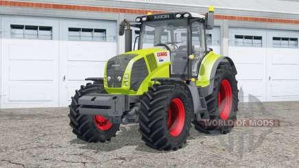 Claas Axioȵ 850 pour Farming Simulator 2015