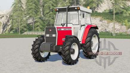 Massey Ferguson 398 pour Farming Simulator 2017