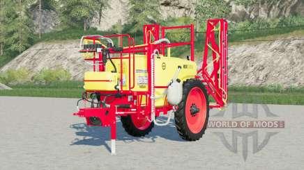 Unia Pilmet Rex 2518〡green et rouge pour Farming Simulator 2017