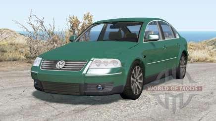 Volkswagen Passat sedan (B5.5) 2001 für BeamNG Drive