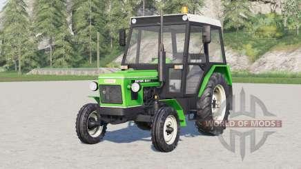 Zetor 6000, 7000〡choice du moteur pour Farming Simulator 2017