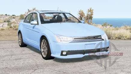 Ford Focus sedan (NA2) 2008 v2.1 pour BeamNG Drive