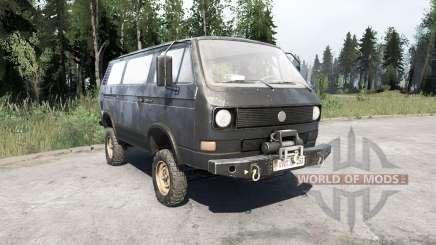 Volkswagen Transporter (T3) 1982 pour MudRunner