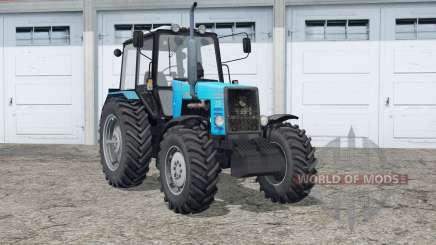 MTH 1221 Belarus〡und Spuren von Rädern für Farming Simulator 2015