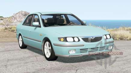 Mazda 626 sedan (GF) 1997 pour BeamNG Drive
