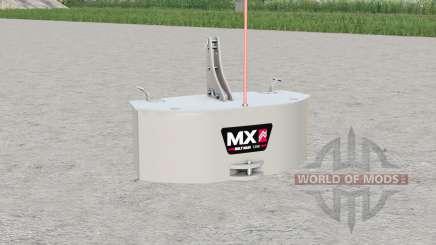 MX Multimass 1200〡two 400 kg. Zusatzgewichte für Farming Simulator 2017