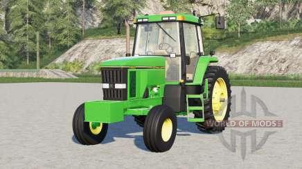 Roues de 〡 série John Deere 7000 pour Farming Simulator 2017