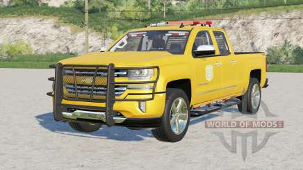Chevrolet Silverado 1500 Double Cab (GMTK2) 2016〡Iowa DNR v2.0 pour Farming Simulator 2017