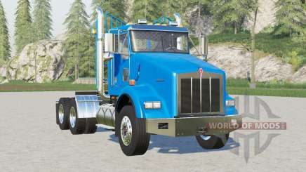 Configurations Kenworth T800 Day Cab〡many pour Farming Simulator 2017