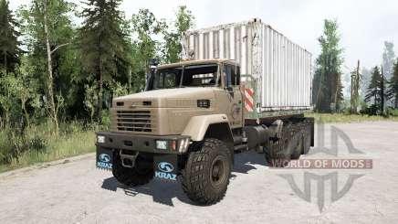 La cargaison de KRAz 7140N6 〡 pour MudRunner