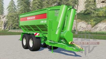 Bergmann GTW 330 für Farming Simulator 2017