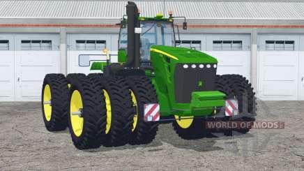 John Deere 9630〡 avec des triples étroits pour Farming Simulator 2015