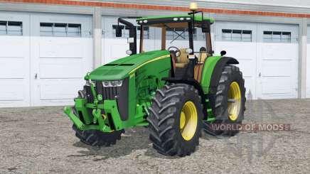 John Deere 8370R〡Vollbeleuchtung für Farming Simulator 2015