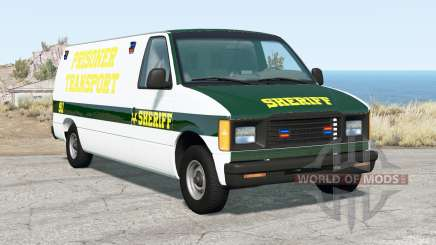 Gavril H-Series Prison Van für BeamNG Drive