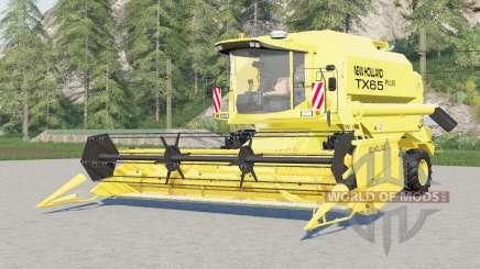 New Holland TX65 plus pour Farming Simulator 2017