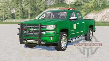 Chevrolet Silverado 1500 Double Cab (GMTK2) 2016〡Iowa DNR pour Farming Simulator 2017