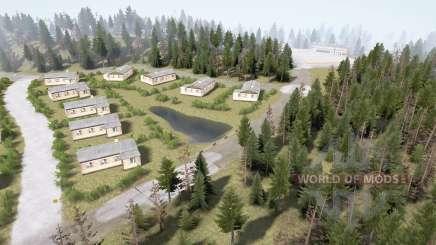 District forestier 3 v1.3.5 pour MudRunner