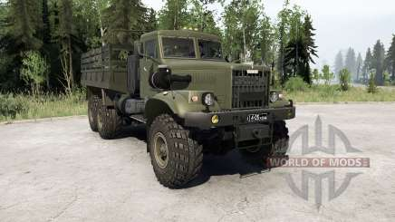 Animations KRAz 255B〡dissibles pour MudRunner