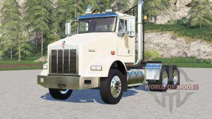 Kenworth T800 Day Cab〡chassis options pour Farming Simulator 2017
