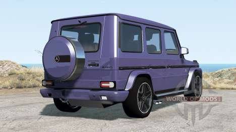 Mercedes-Benz G 65 AMG (W463) 2015 pour BeamNG Drive