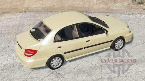 Kia Rio sedan (DC) 2003 pour BeamNG Drive