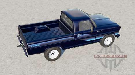 Ford F-1000 1986 pour Farming Simulator 2017