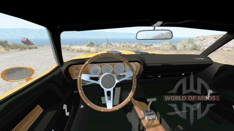 Dodge Challenger RT 440 Six Pack (JS-23) 1970 pour BeamNG Drive