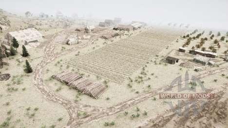 Terres agricoles dans la taïga pour Spintires MudRunner