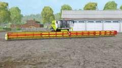 Claas Lexion 780 TT〡header 36 mètres pour Farming Simulator 2015