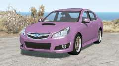 Subaru Legacy B4 (BM) 2010 für BeamNG Drive