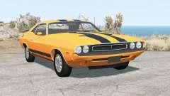 Dodge Challenger RT 440 Six Pack (JS-23) 1970 für BeamNG Drive