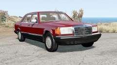Mercedes-Benz 560 SEL (W126) 1985 für BeamNG Drive