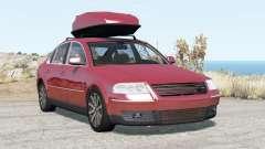 Volkswagen Passat sedan (B5.5) 2001 v2.0 pour BeamNG Drive