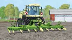 Krone BiG X 580〡entfernter Glanz für Farming Simulator 2015