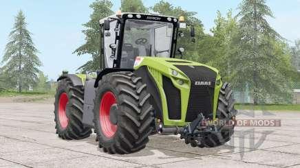 Claas Xerion Trac VC〡animovany joystick pour Farming Simulator 2017