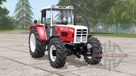 Steyr 8130A Turbo〡6 wahlbare Motorupgrades für Farming Simulator 2017