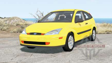Ford Focus ZX3 (DBW) 2000 für BeamNG Drive