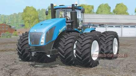 New Holland T9.700〡bewegliche Dinge in der Kabine für Farming Simulator 2015