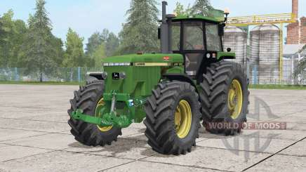 John Deere 4955〡 bugs corrigés pour Farming Simulator 2017