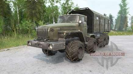 Ural 6614 8x8 für MudRunner