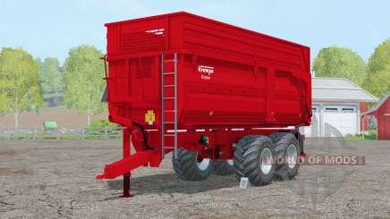 Krampe Big Body 650 Essieu 〡steerable pour Farming Simulator 2015