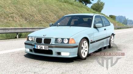 BMW M3 compact (E36) 1996 v1.7 pour Euro Truck Simulator 2