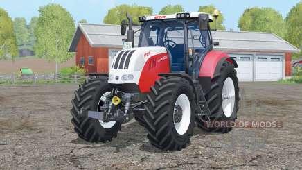 Steyr 6160 CVT〡interaktive Steuerung für Farming Simulator 2015